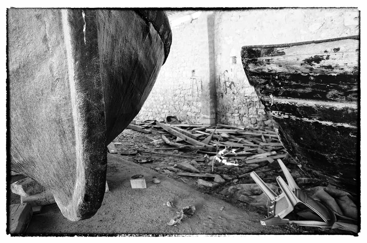 Barche abbandonate in B&N