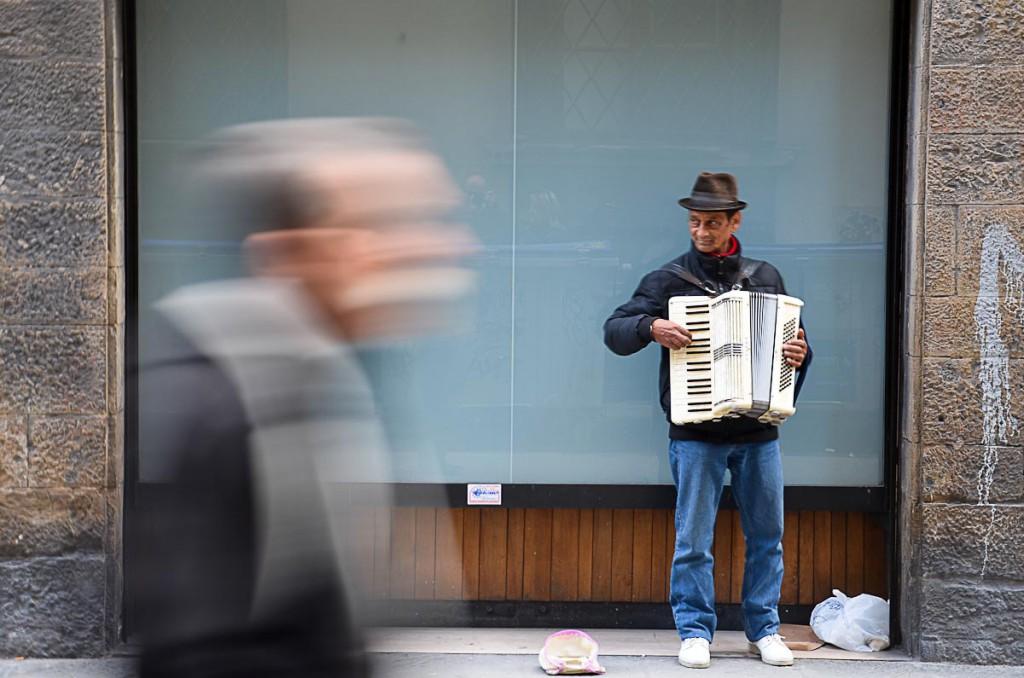 suonatore di fisarmonica