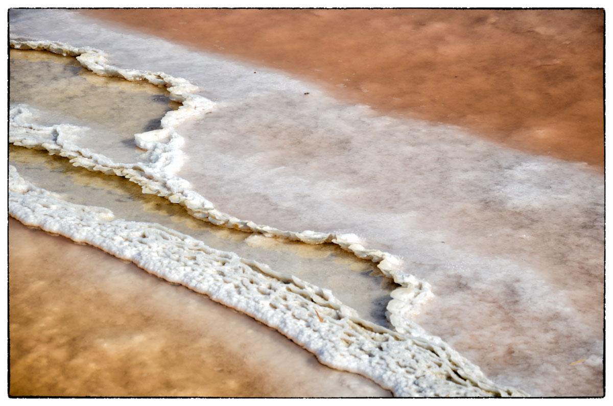 Saline di Trapani - La costa di sale in formazione