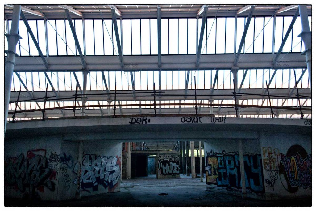 Fabbrica Galileo abbandonata