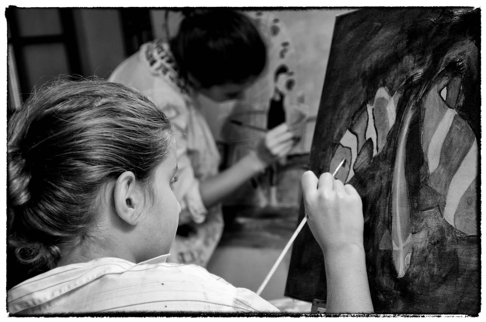 Ragazze che dipingono