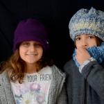 Daria e Teresa con cappelli